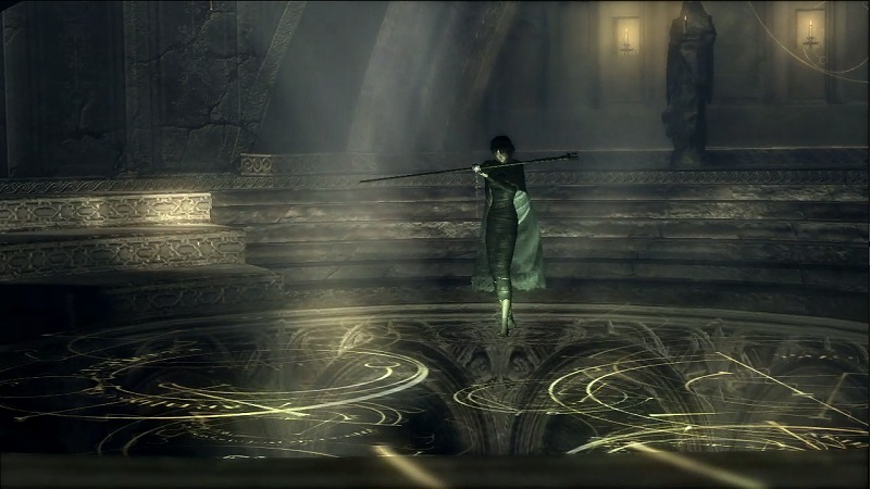 楔の神殿 火守女